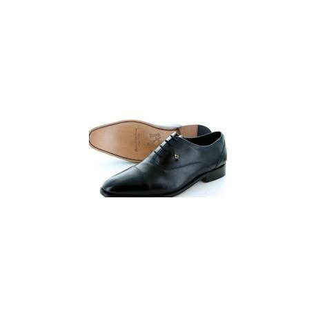 Men's Black Oxford Leather Shoes