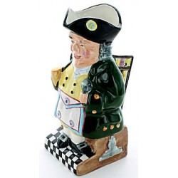 Mark M.M. Masonic Toby Jug