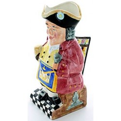 Grand Rank Masonic Toby Jug