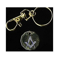 Square & Compasses Trolley Token