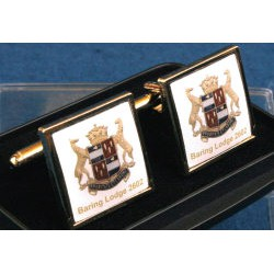 15 Bespoke Masonic Square Cuff links