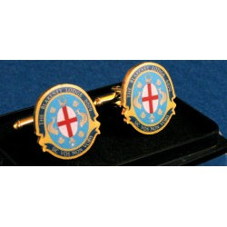 15 Bespoke Masonic Round Cuff links