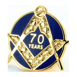70 Year Craft Lapel Pin- Out of stock
