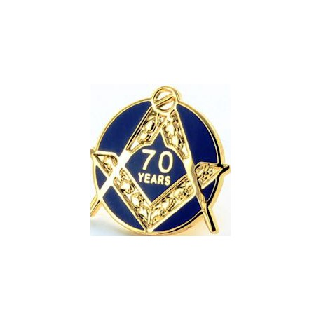 70 Year Craft Lapel Pin