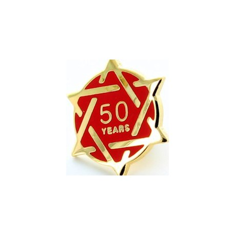 50 Year Chapter Pin