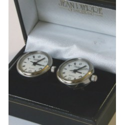 Masonic Chrome Cuff Link Watches