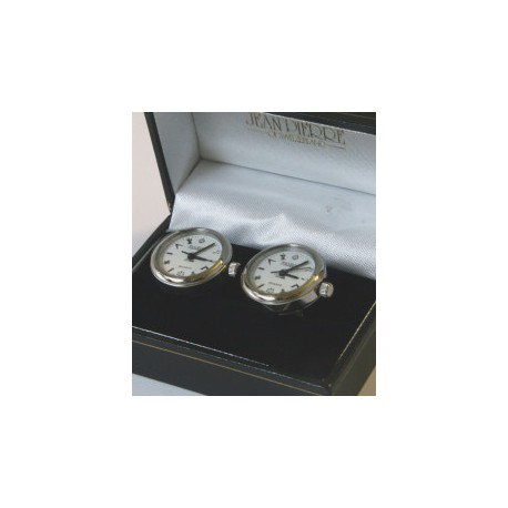 Masonic Chrome Cuff Link Watches
