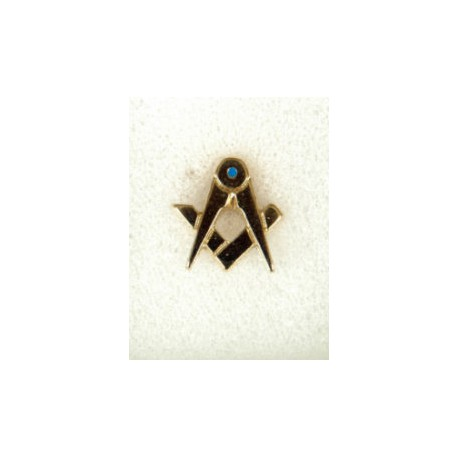 Square and Compasses Lapel pin