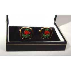Rose Croix Cuff Links