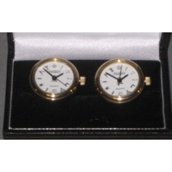 Masonic Gilt Cuff Link Watches