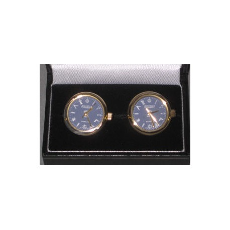 Masonic Blue Dial Cuff link watches