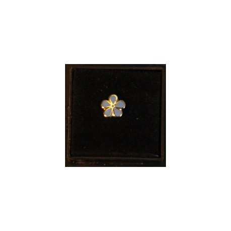 7mm Forget me not pin