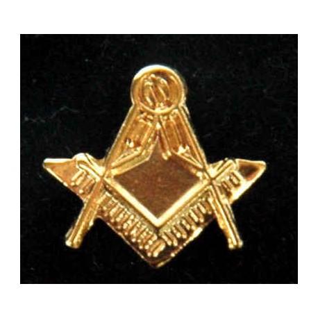 10mm Square & Compasses Lapel pin