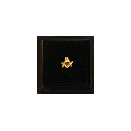 7mm Square and Compasses pin