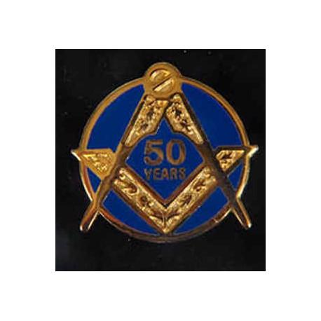 50 Year Pin