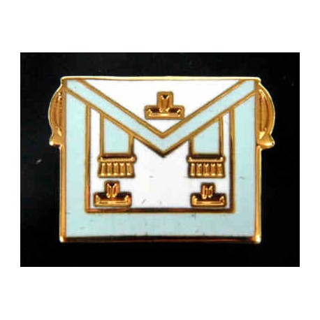 Worshipful Master Lapel pin
