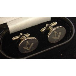 Silver Plated Cufflinks - back in stock