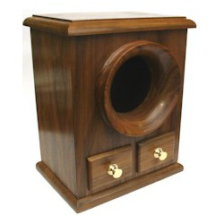 Masonic Two Draw Ballot Box