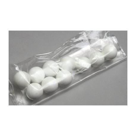 Masonic 10 White Ballot Balls- Back in stock