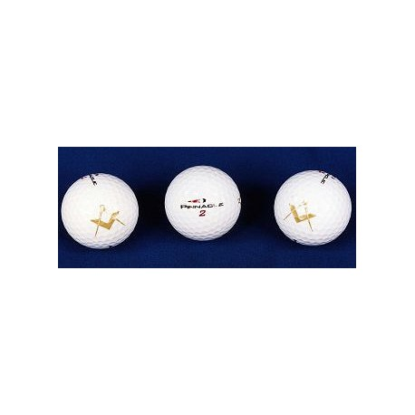 3pk Square & Compasses Golf Balls