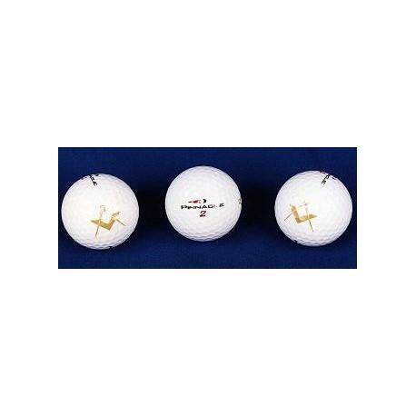 3pk Square & Compasses Golf Balls