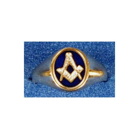 9 Carat Gold Oval Ring - see description for available sizes