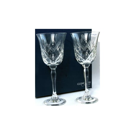 Square & Compasses Goblet set