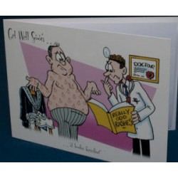 Get well soon card looks familiar