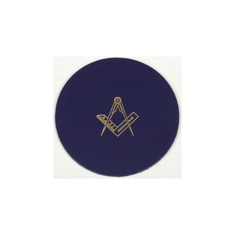 6 Sq/C Blue Coasters