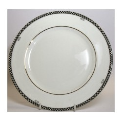 "Edwardian Fine Bone China Made in England, 10"" Plate"