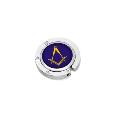 Blue Masonic Handbag Holder