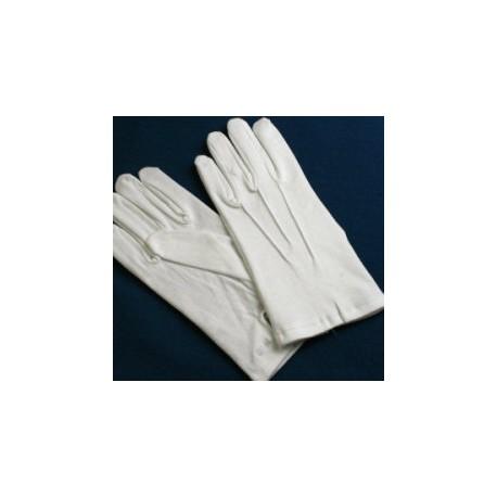 White Masonic Cotton Gloves