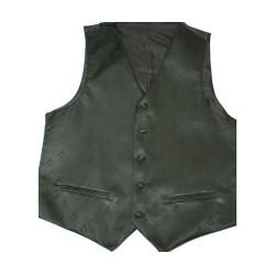 Black Sq/c Waistcoat