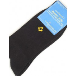 Sq/C Black Socks