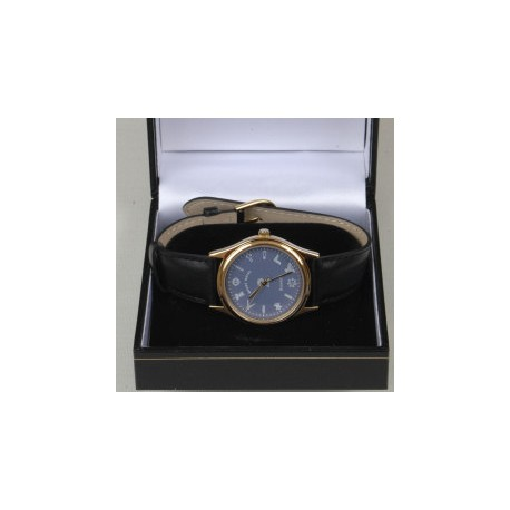 Blue Dial Wrist Watch