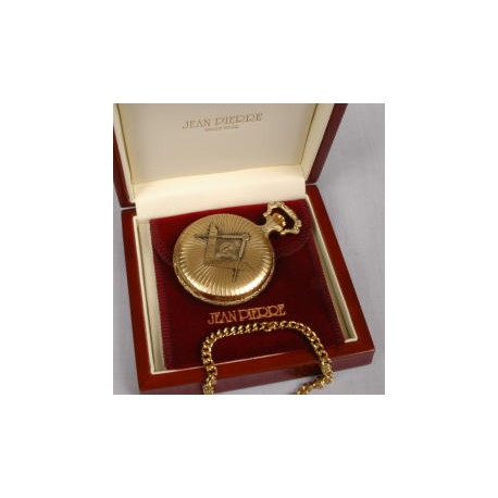 9 Carat Gold Plated Full Hunter Pocket watch
