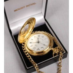 Gilt Plated Half Hunter Pocket watch