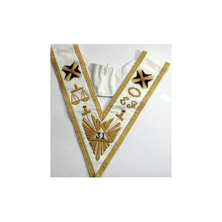 Rose Croix 31st Degree Collar