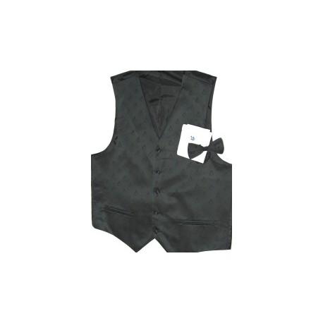 Black Waistcoat set