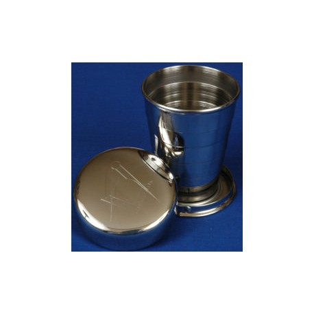 Square and Compasses Collapsible Cup