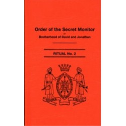 Order of the Secret Monitor ritual No. 2- Back in Stock