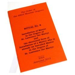 Masonic Ritual Books