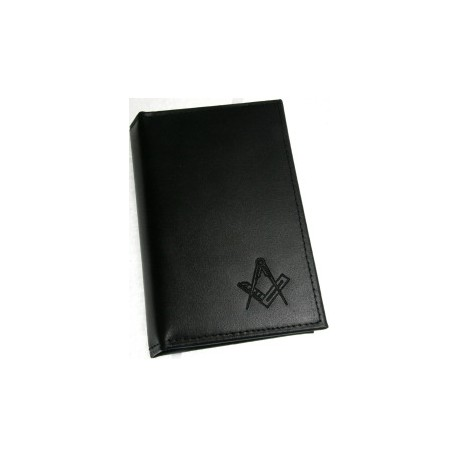 Leather ritual Book Cover Sq/C Embossed