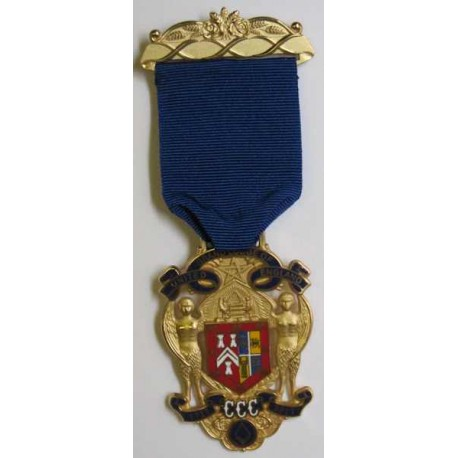 Tercentenary Metal Gilt Jewel (1717-2017)
