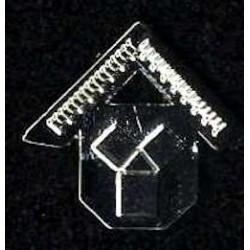 NEW S/P Past Master Lapel Pin