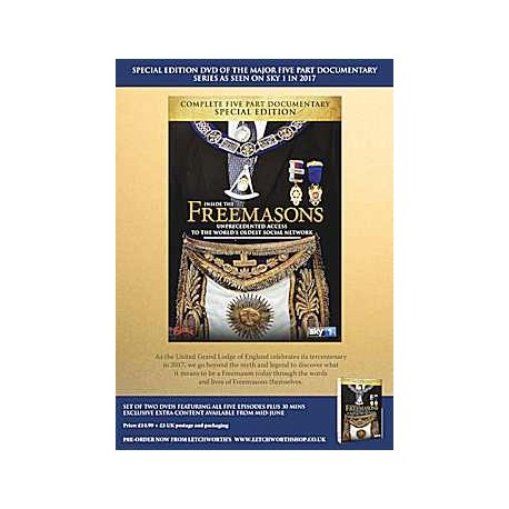 Inside the Freemasons D.V.D Pre-order