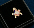 Masonic Lapel pin with G
