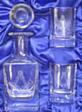 Sq/C Mini Decanter Set
