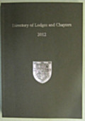 2012 Directory of Lodges & Chapters