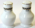 Edwardian Fine Bone China Made in England, Salt & Pepper set